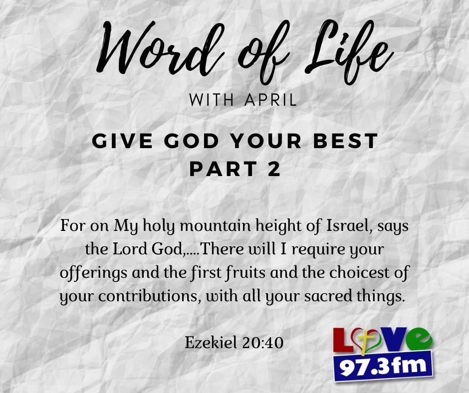 Ezekiel 20: 40
