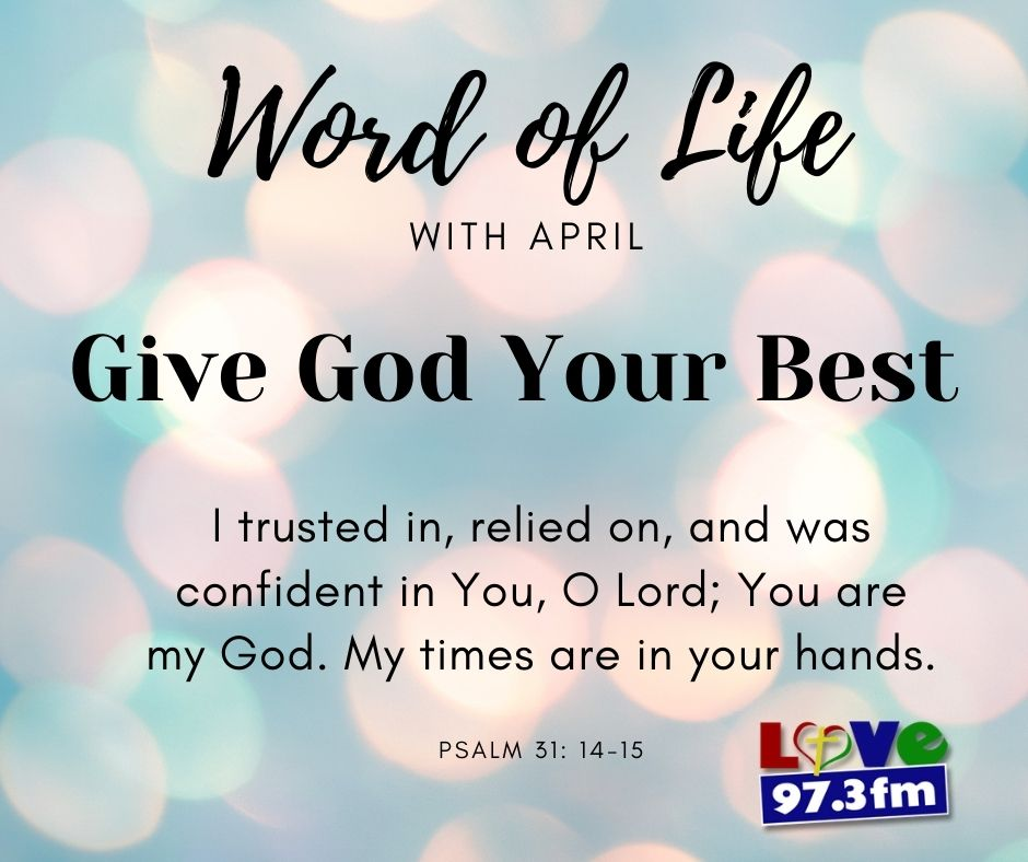 Psalm 31: 14-15