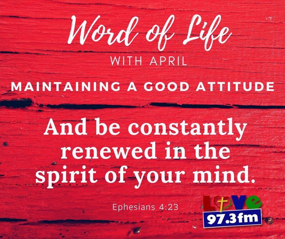 Ephesians 4: 23