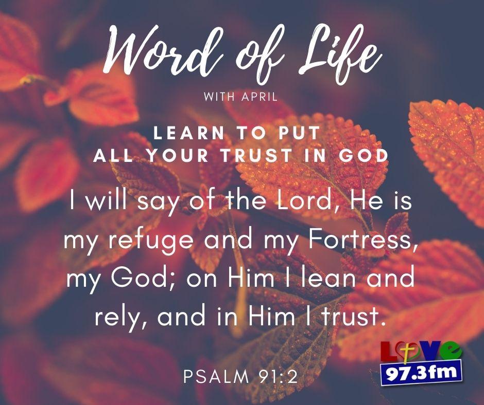 Psalm 91: 2
