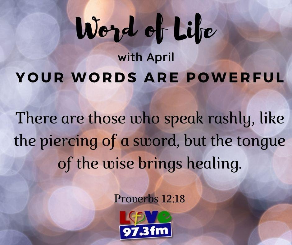 Proverbs 12:18