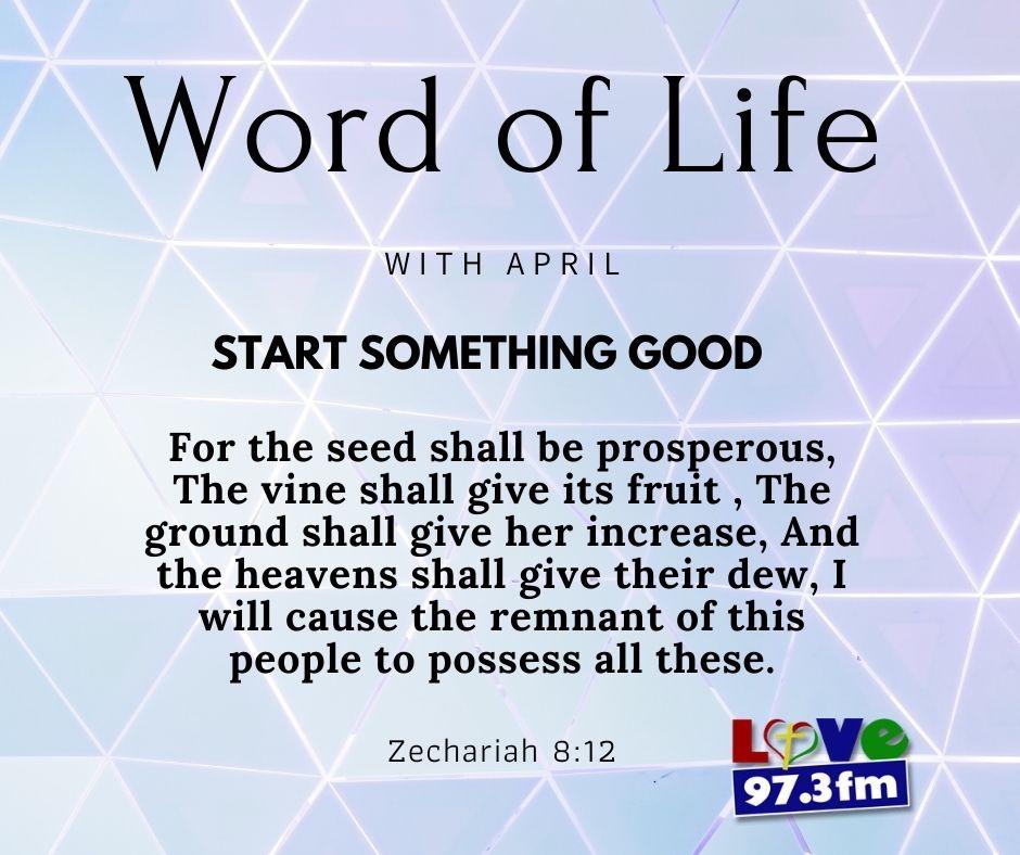 Zechariah 8:12