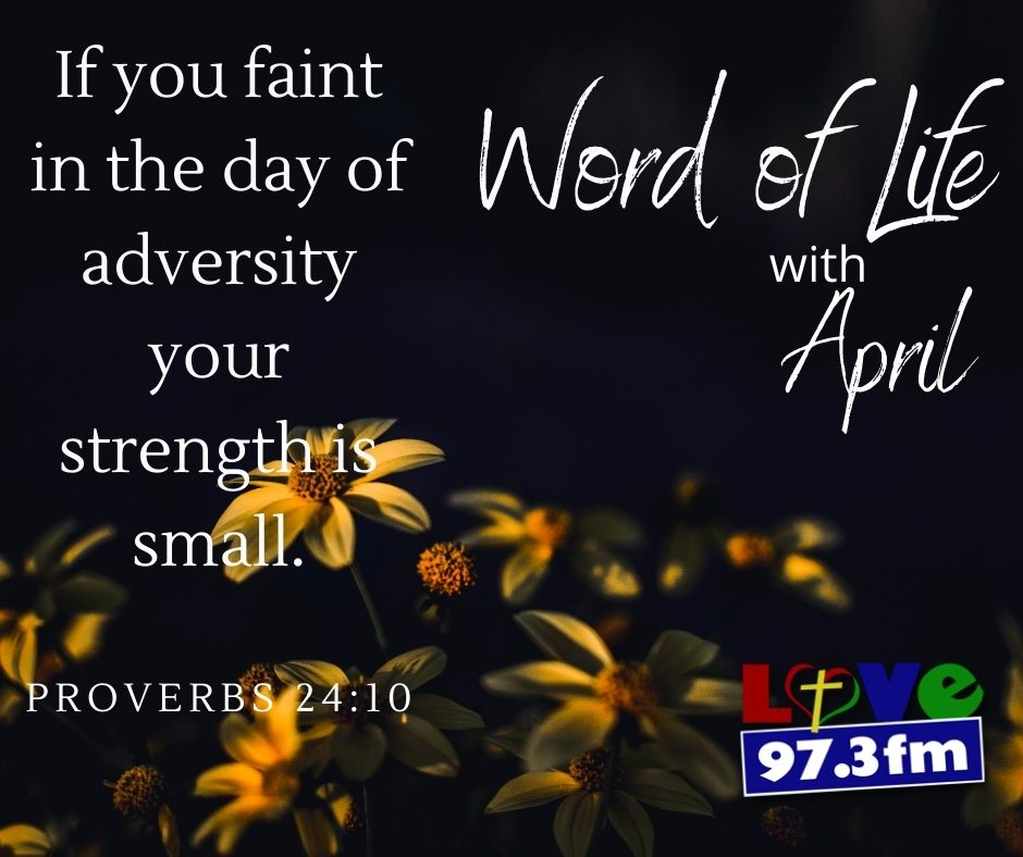 Proverbs 24:10