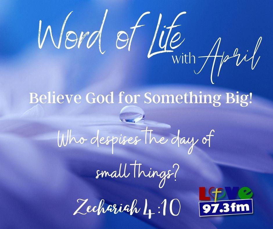 Zachariah 4:10