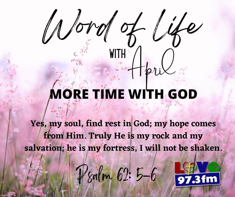 Psalm 62: 5-6
